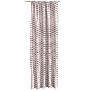 Pencil pleat curtains 130 x 260 cm (51 x 102 inch) in collection Ashley, fabric: 137-70