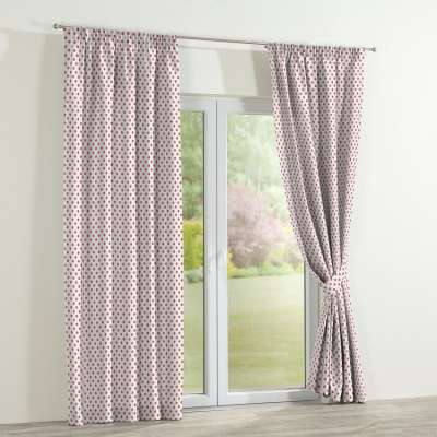 Pencil pleat curtains in collection Ashley, fabric: 137-70