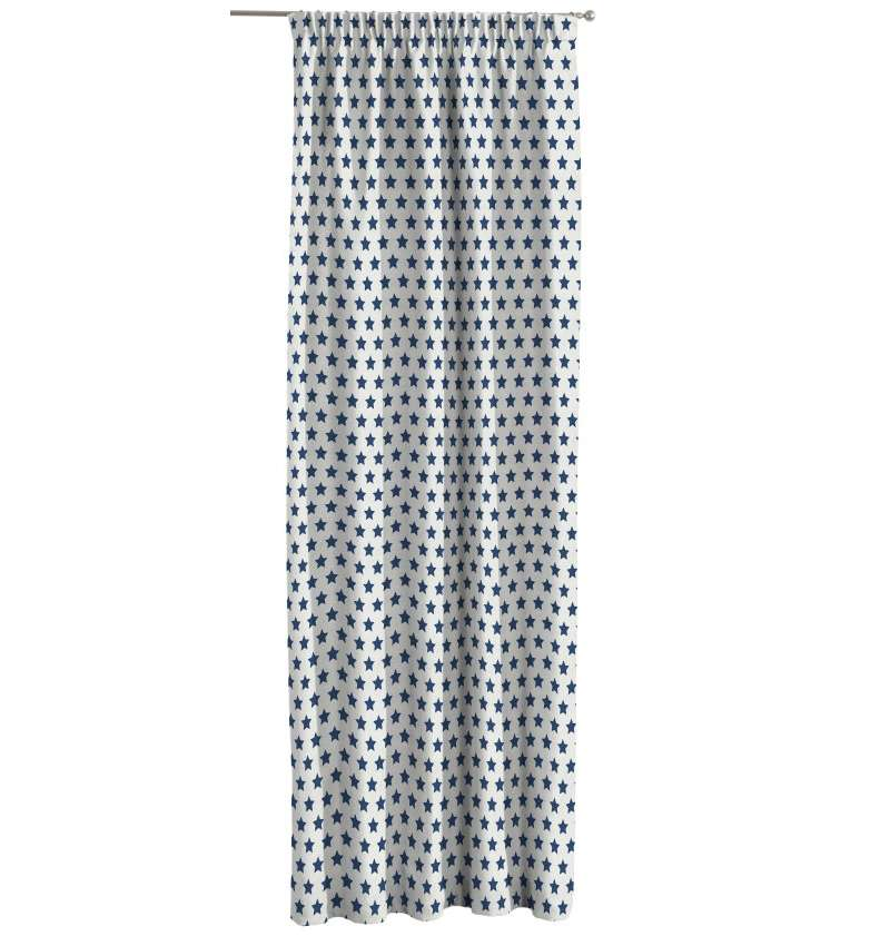 Pencil pleat curtains in collection Little World, fabric: 137-71