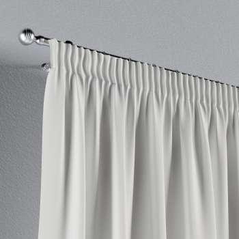 Pieštukinio klostavimo užuolaidos 130 x 260 cm (plotis x ilgis) kolekcijoje Cotton Panama, audinys: 702-34