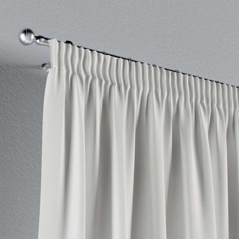 Gardin med rynkband 1 längd i kollektionen Panama Cotton, Tyg: 702-34