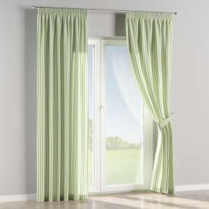Pencil pleat curtains 130 x 260 cm (51 x 102 inch) in collection Quadro, fabric: 136-35