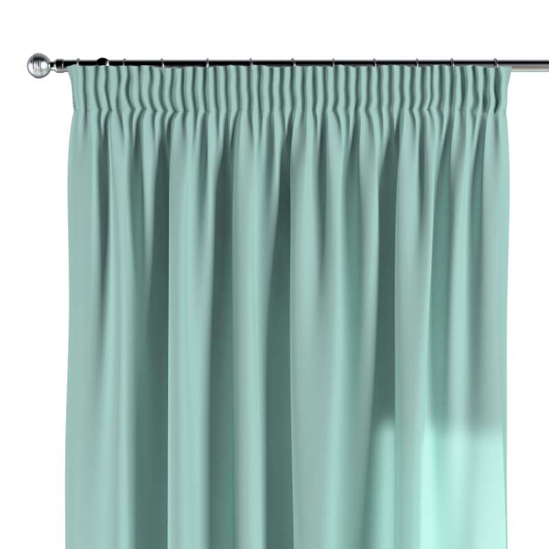 Pencil pleat curtain in collection Loneta , fabric: 133-32
