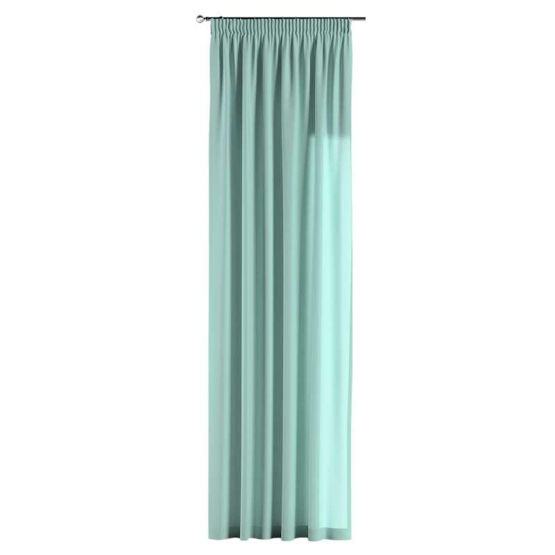Vorhang mit Kräuselband von der Kollektion Loneta, Stoff: 133-32