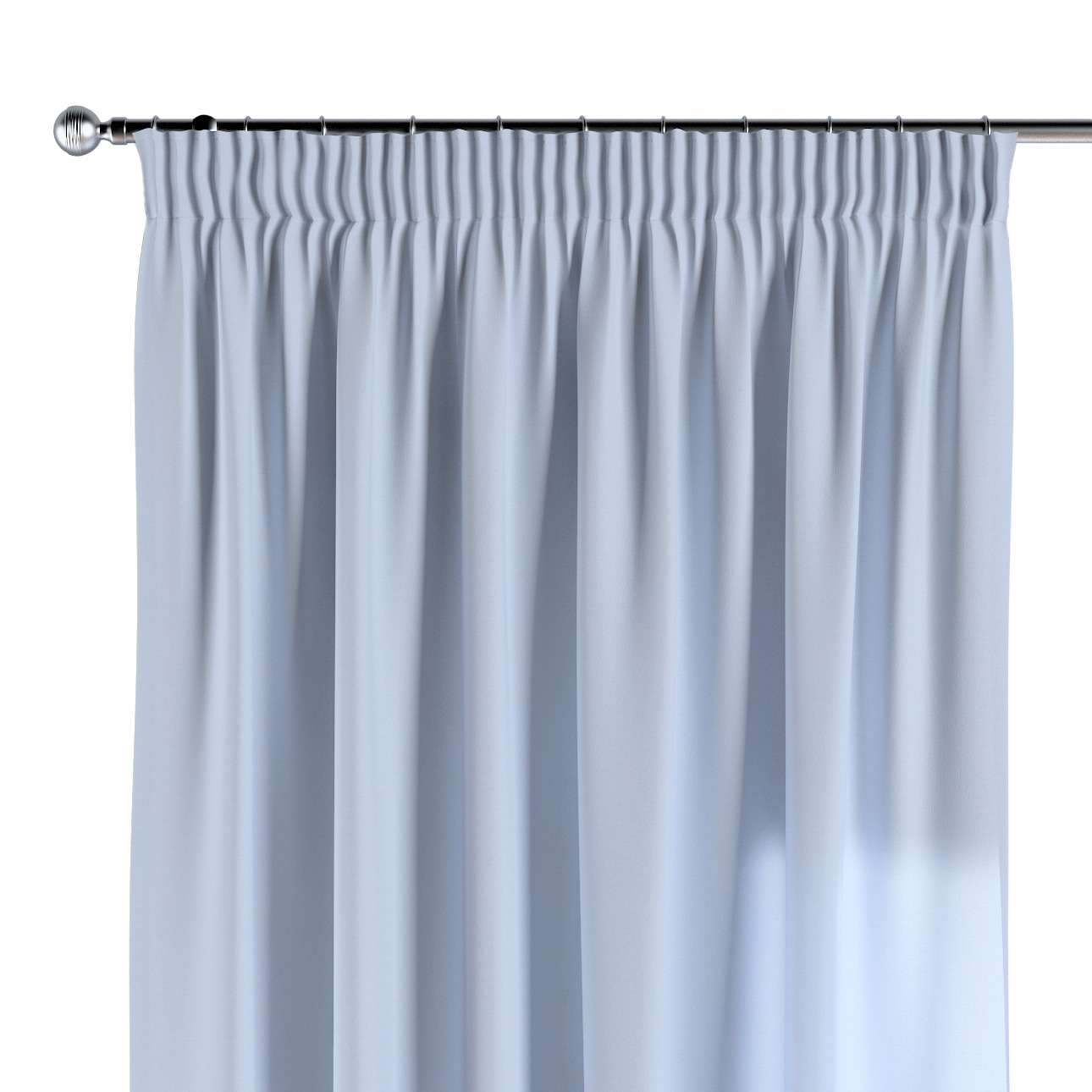 Pencil pleat curtains 130 x 260 cm (51 x 102 inch) in collection Loneta , fabric: 133-35