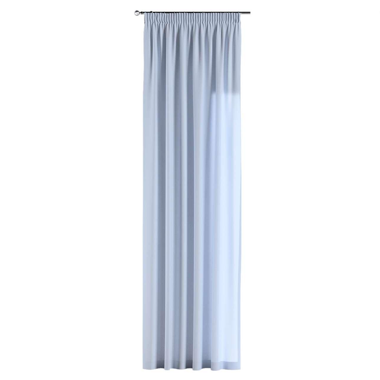 Gardin med rynkband 1 längd 130 x 260 cm i kollektionen Loneta , Tyg: 133-35