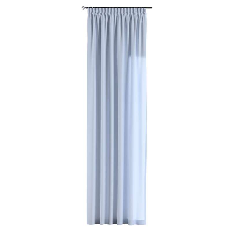 Pencil pleat curtain in collection Loneta , fabric: 133-35
