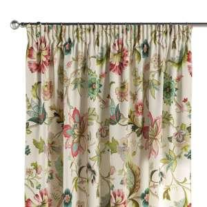 Vorhang mit Kräuselband 130 x 260 cm von der Kollektion Londres, Stoff: 122-00