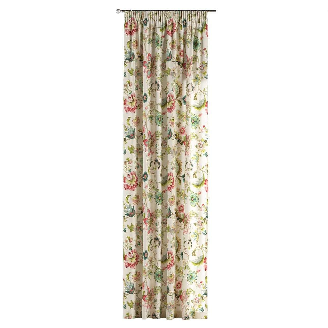 Függöny ráncolóval 130 x 260 cm a kollekcióból Bútorszövet Londres, Dekoranyag: 122-00