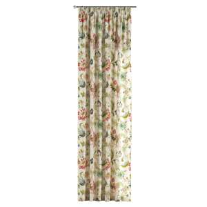 Pencil pleat curtains 130 x 260 cm (51 x 102 inch) in collection Londres, fabric: 122-00