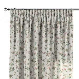 Vorhang mit Kräuselband 130 x 260 cm von der Kollektion Londres, Stoff: 122-02