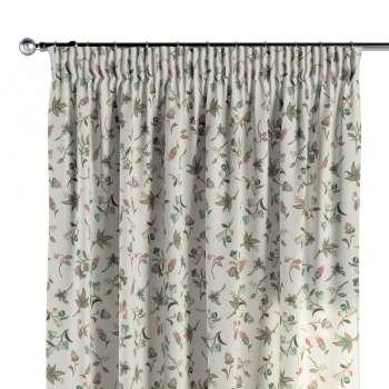 Vorhang mit Kräuselband von der Kollektion Londres, Stoff: 122-02