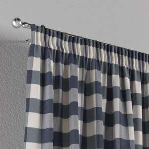 Vorhang mit Kräuselband 1 Stck. 130 x 260 cm von der Kollektion Quadro, Stoff: 136-03