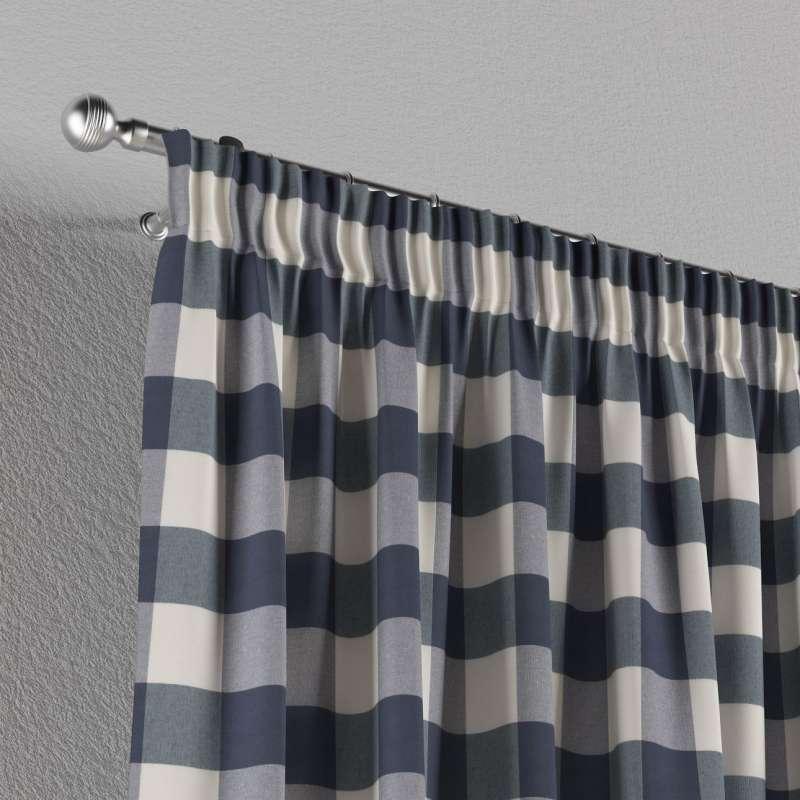 Függöny ráncolóval a kollekcióból Quadro Lakástextil, Dekoranyag: 136-03