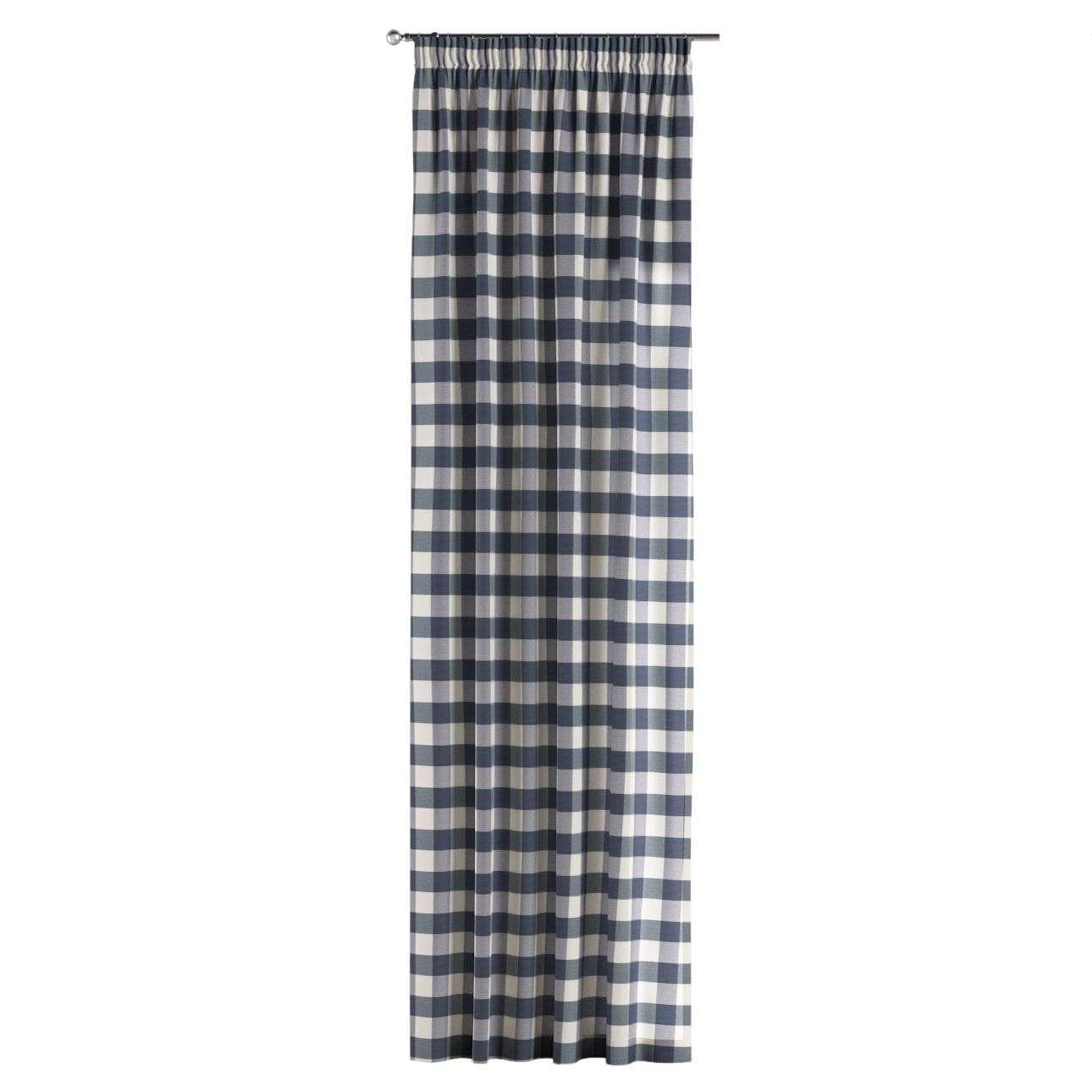 Záves na riasiacej páske V kolekcii Quadro, tkanina: 136-03