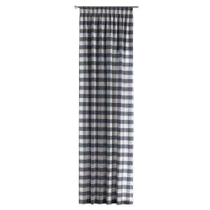 Pieštukinio klostavimo užuolaidos 130 x 260 cm (plotis x ilgis) kolekcijoje Quadro, audinys: 136-03