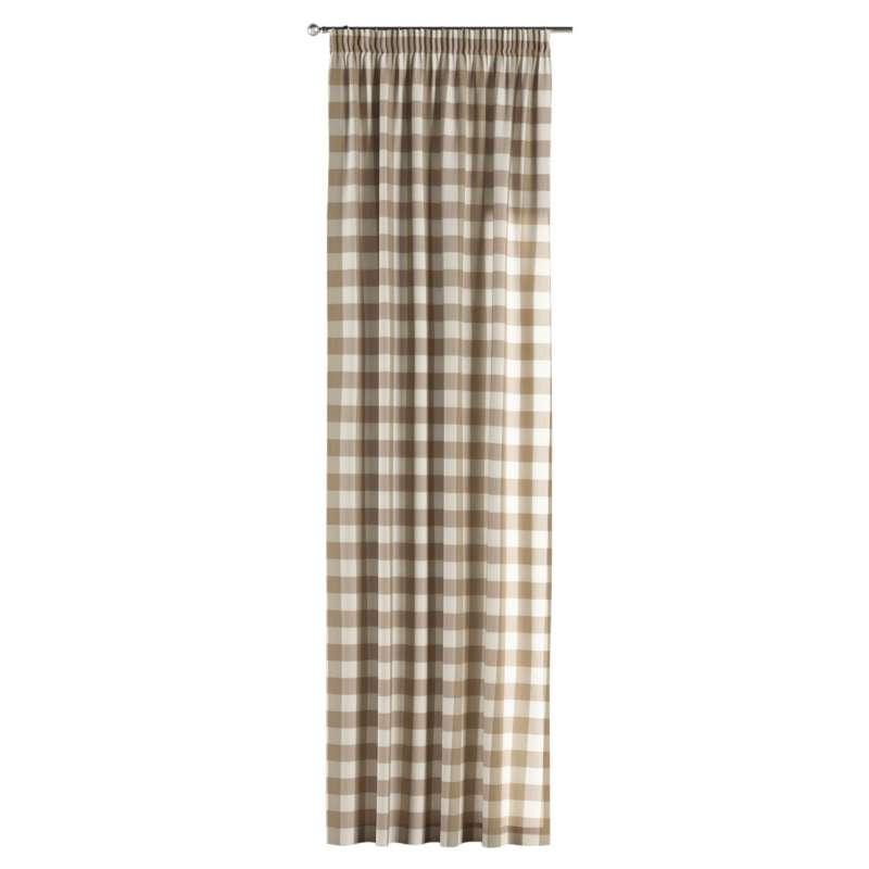Záves na riasiacej páske V kolekcii Quadro, tkanina: 136-08