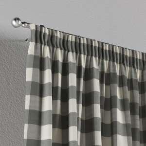 Vorhang mit Kräuselband 130 x 260 cm von der Kollektion Quadro, Stoff: 136-13