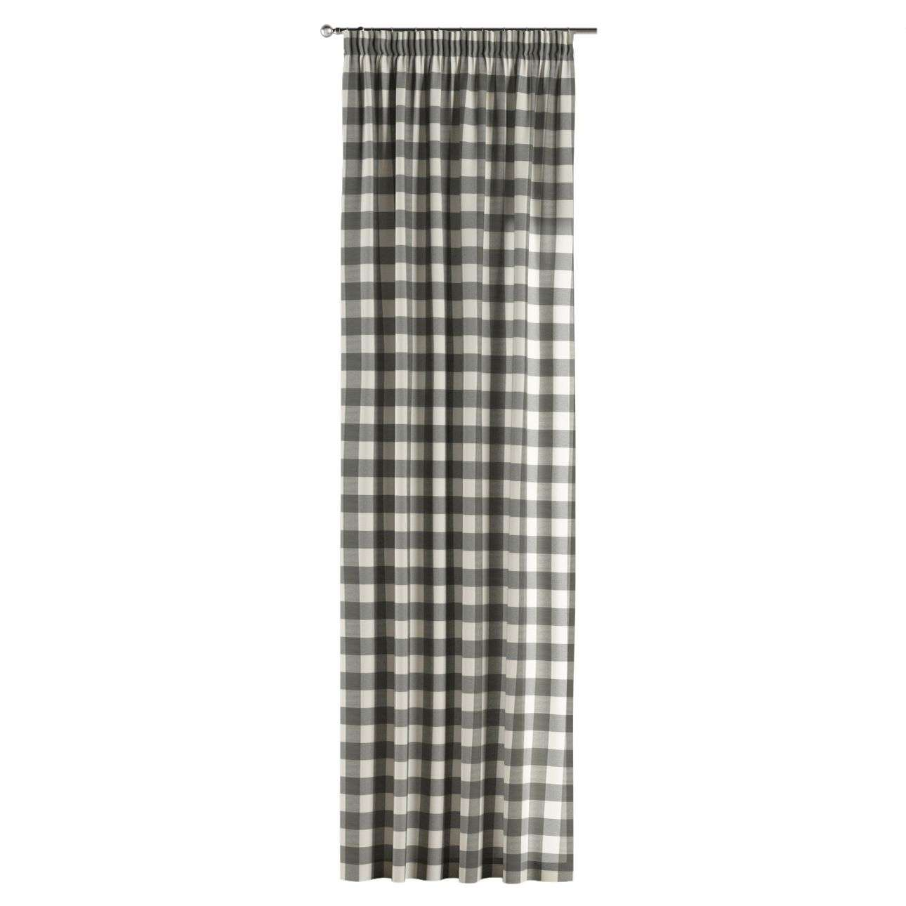 Záves na riasiacej páske 130 x 260 cm V kolekcii Quadro, tkanina: 136-13