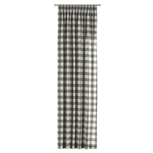 Pieštukinio klostavimo užuolaidos 130 x 260 cm (plotis x ilgis) kolekcijoje Quadro, audinys: 136-13