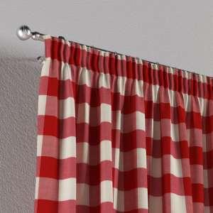 Vorhang mit Kräuselband 130 x 260 cm von der Kollektion Quadro, Stoff: 136-18