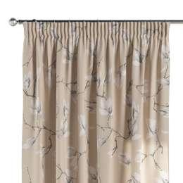 Pencil pleat curtain