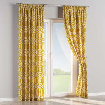 Pencil pleat curtains in collection Comics/Geometrical, fabric: 135-09