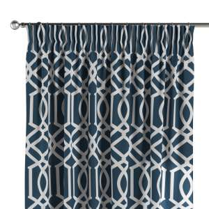 Pencil pleat curtains 130 x 260 cm (51 x 102 inch) in collection Comic Book & Geo Prints, fabric: 135-10