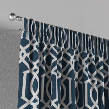 Gardin med rynkband 1 längd 130 x 260 cm i kollektionen Comics , Tyg: 135-10
