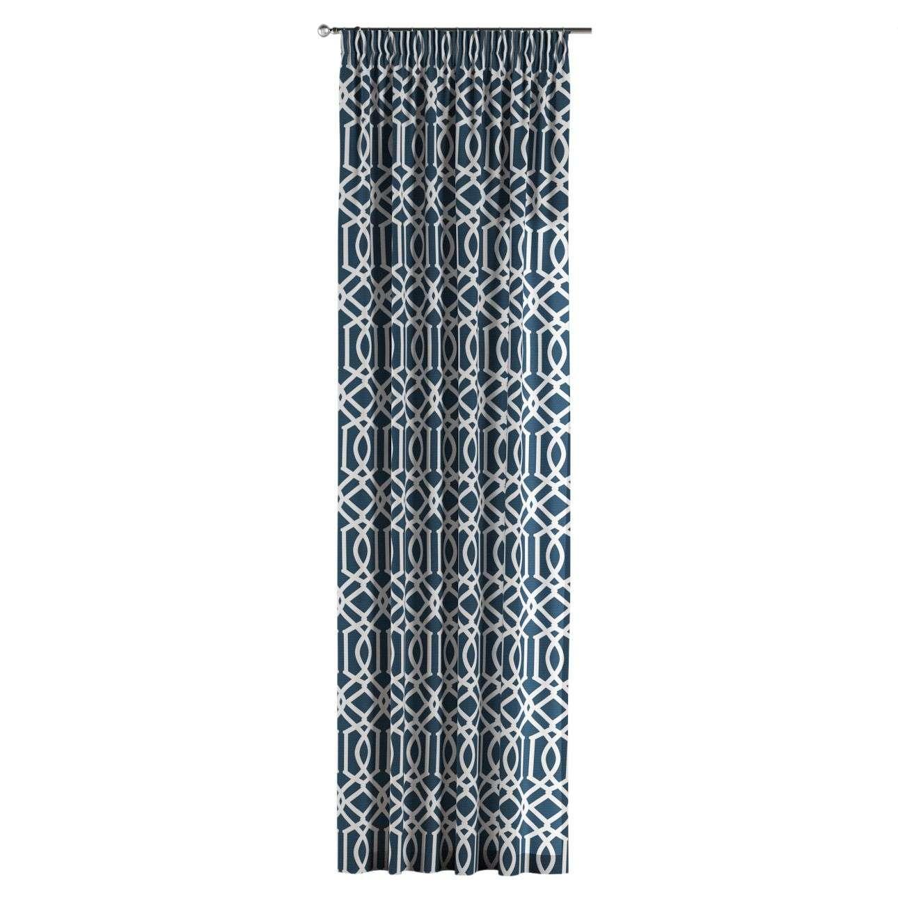 Gordijn met krullint 130 x 260 cm van de collectie Comics, Stof: 135-10