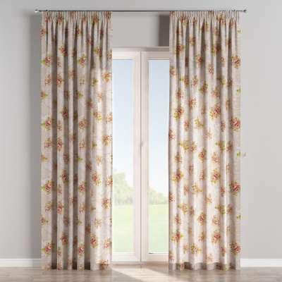Vorhang mit Kräuselband von der Kollektion Flowers, Stoff: 311-15