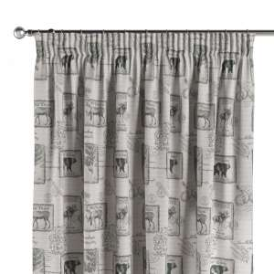 Pencil pleat curtains 130 x 260 cm (51 x 102 inch) in collection Nordic, fabric: 630-18