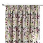 Pencil pleat curtains 130 x 260 cm (51 x 102 inch) in collection Comic Book & Geo Prints, fabric: 135-15