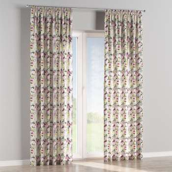 Pencil pleat curtains 130 x 260 cm (51 x 102 inch) in collection Freestyle, fabric: 135-15