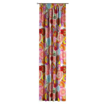 Pencil pleat curtains 130 x 260 cm (51 x 102 inch) in collection Comics/Geometrical, fabric: 135-22