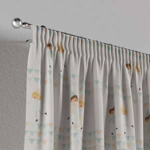 Pencil pleat curtains 130 x 260 cm (51 x 102 inch) in collection Apanona, fabric: 151-01