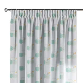 Pencil pleat curtains 130 x 260 cm (51 x 102 inch) in collection Apanona, fabric: 151-02
