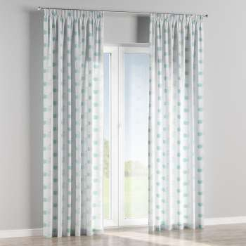 Pencil pleat curtains