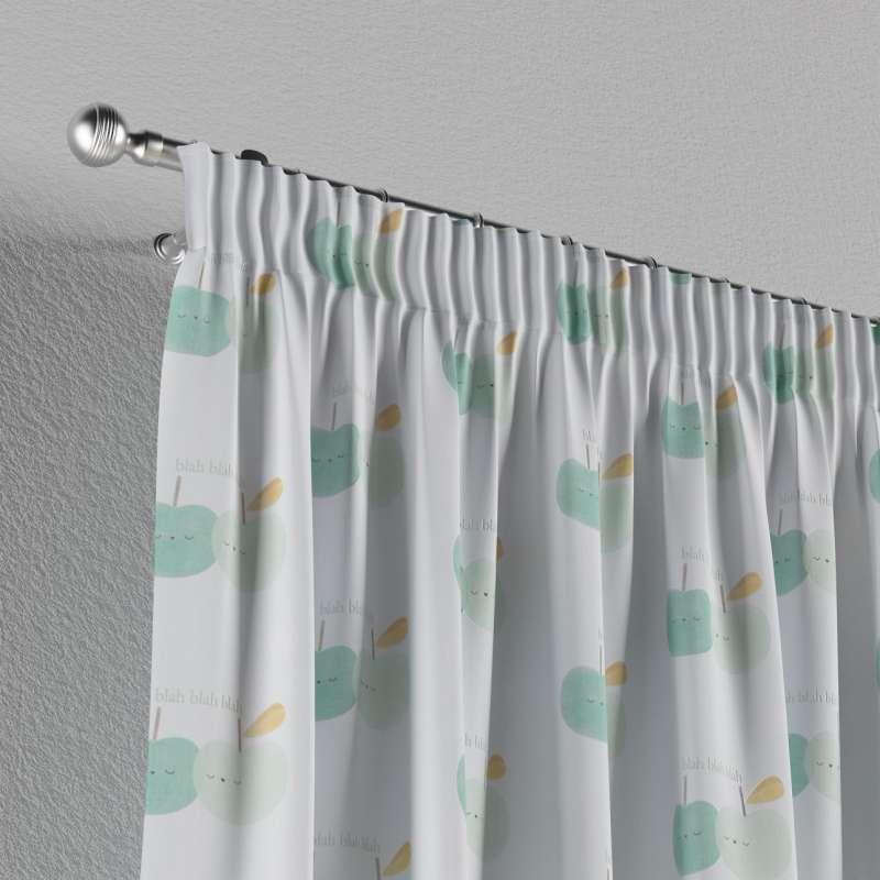 Vorhang mit Kräuselband von der Kollektion Little World, Stoff: 151-02