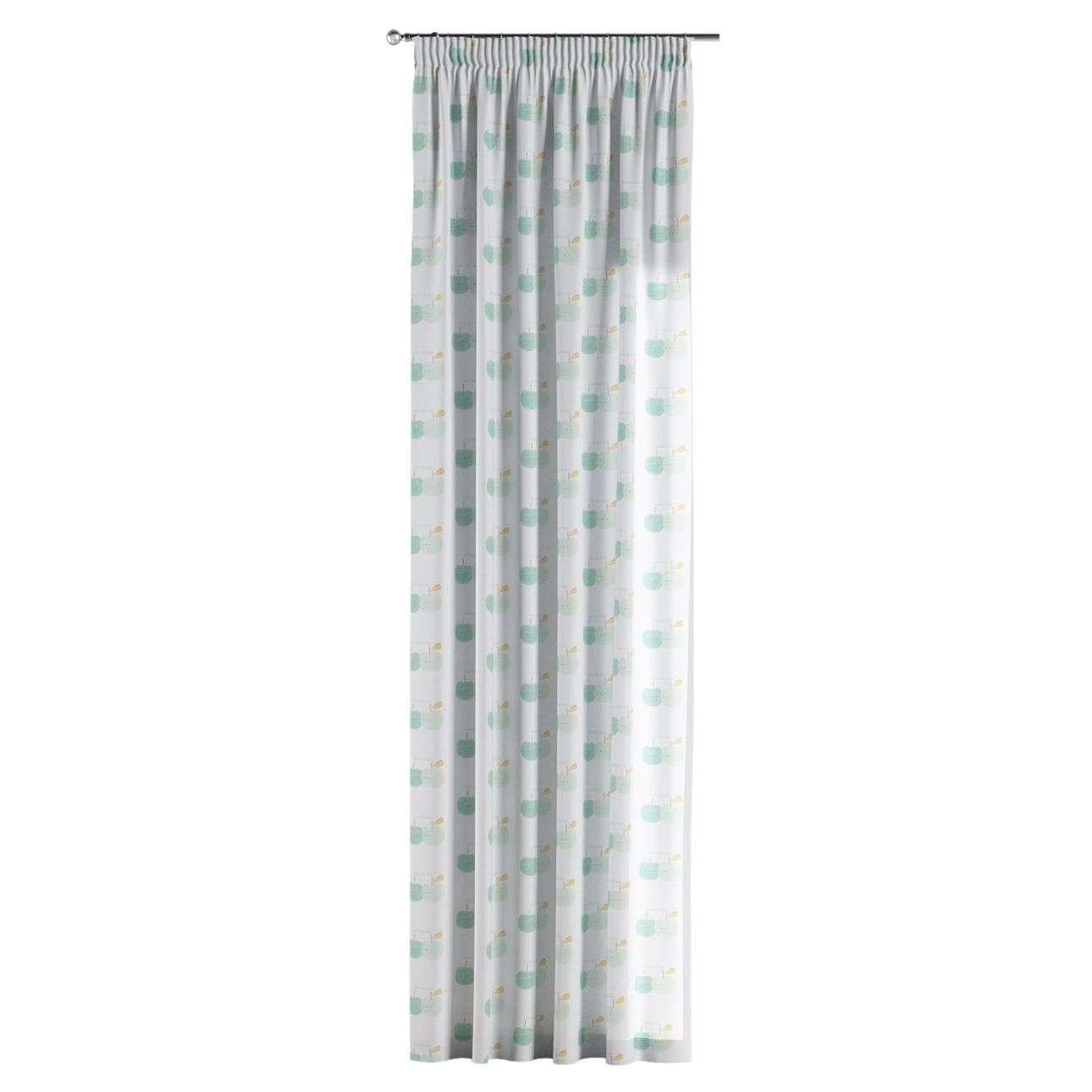 Záves na riasiacej páske V kolekcii Apanona, tkanina: 151-02