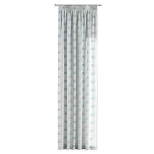 Gardin med rynkebånd 130 x 260 cm fra kollektionen Apanona , Stof: 151-02