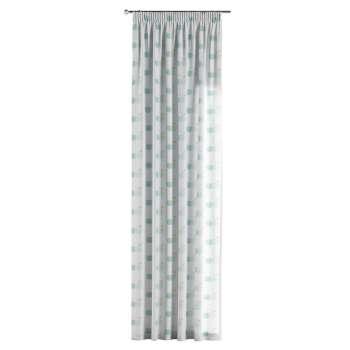 Gardin med rynkebånd 1 stk. 130 × 260 cm fra kolleksjonen Apanona , Stoffets bredde: 151-02