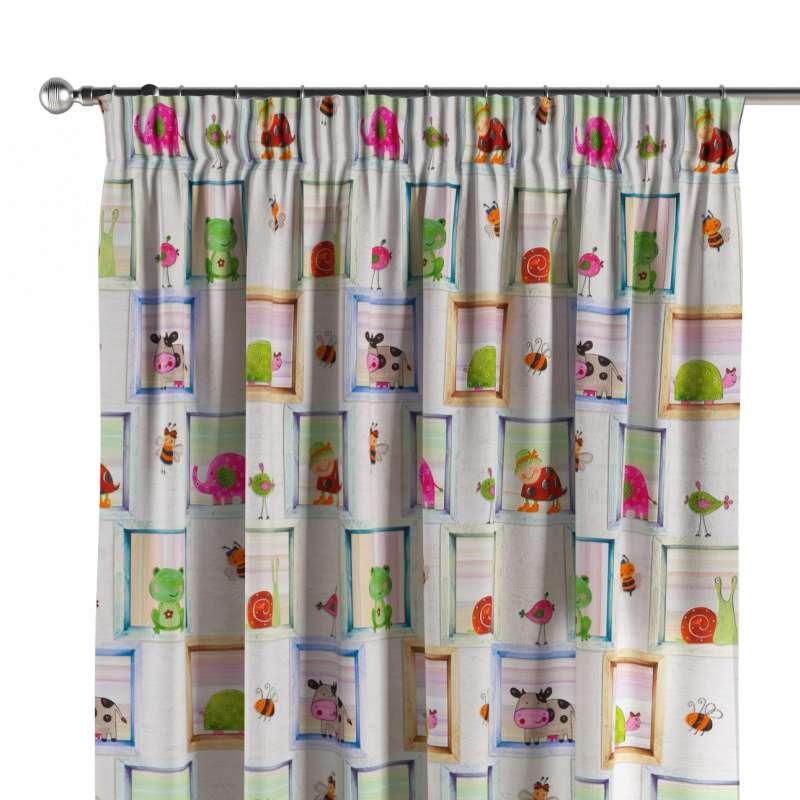 Függöny ráncolóval a kollekcióból Little World Lakástextil, Dekoranyag: 151-04