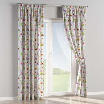 Pencil pleat curtains 130 x 260 cm (51 x 102 inch) in collection Apanona, fabric: 151-04