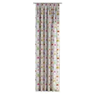 Zasłona na taśmie marszczącej 1 szt. 1szt 130x260 cm w kolekcji Apanona, tkanina: 151-04