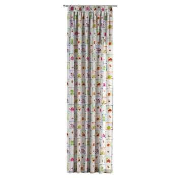 Záves na riasiacej páske V kolekcii Apanona, tkanina: 151-04