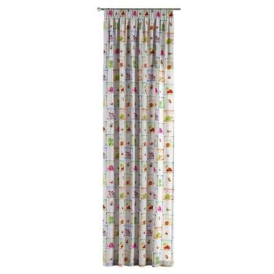 Záves na riasiacej páske V kolekcii Little World, tkanina: 151-04