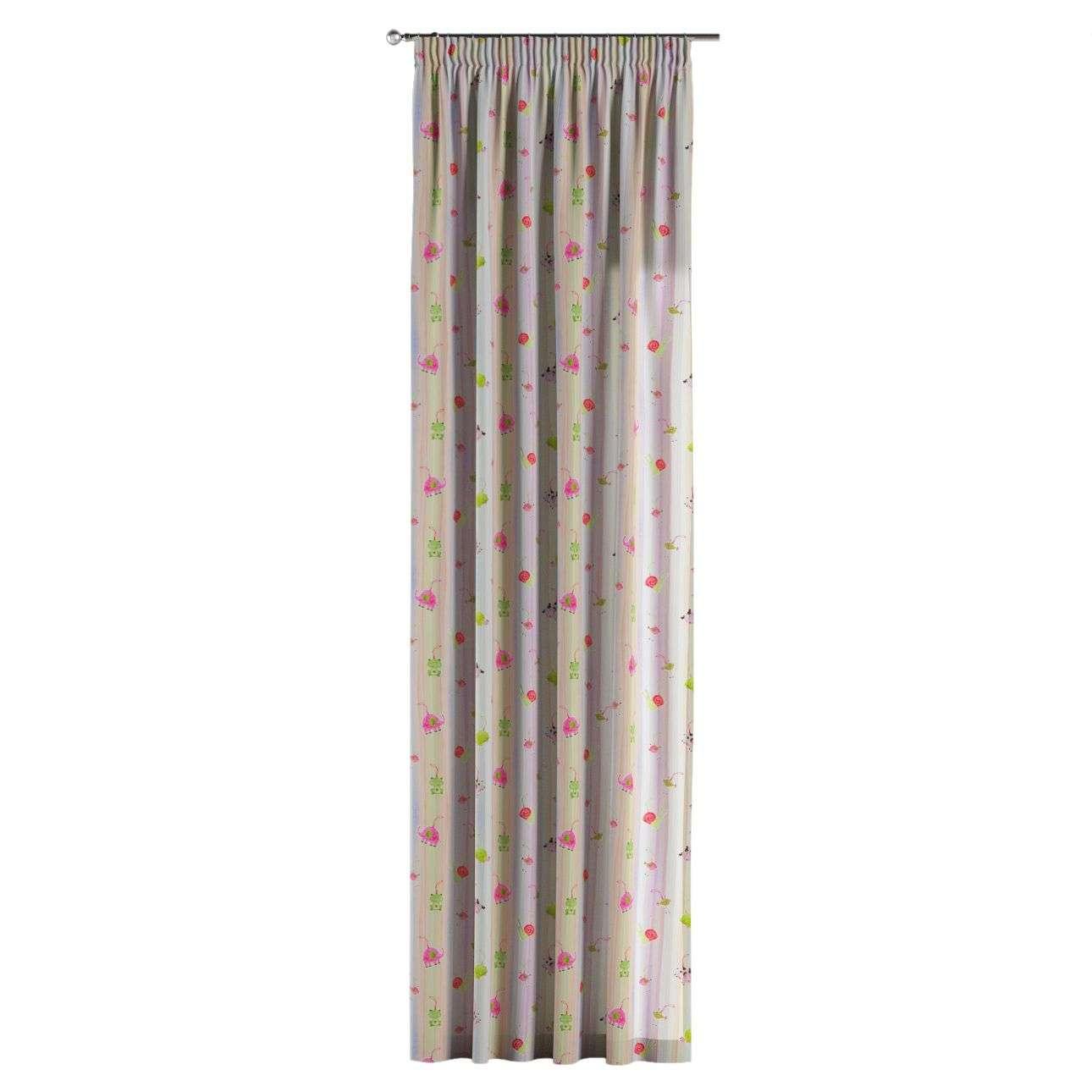 Vorhang mit Kräuselband 1 Stck. 130 x 260 cm von der Kollektion Apanona, Stoff: 151-05