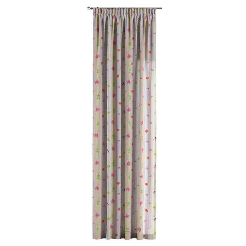 Vorhang mit Kräuselband von der Kollektion Little World, Stoff: 151-05
