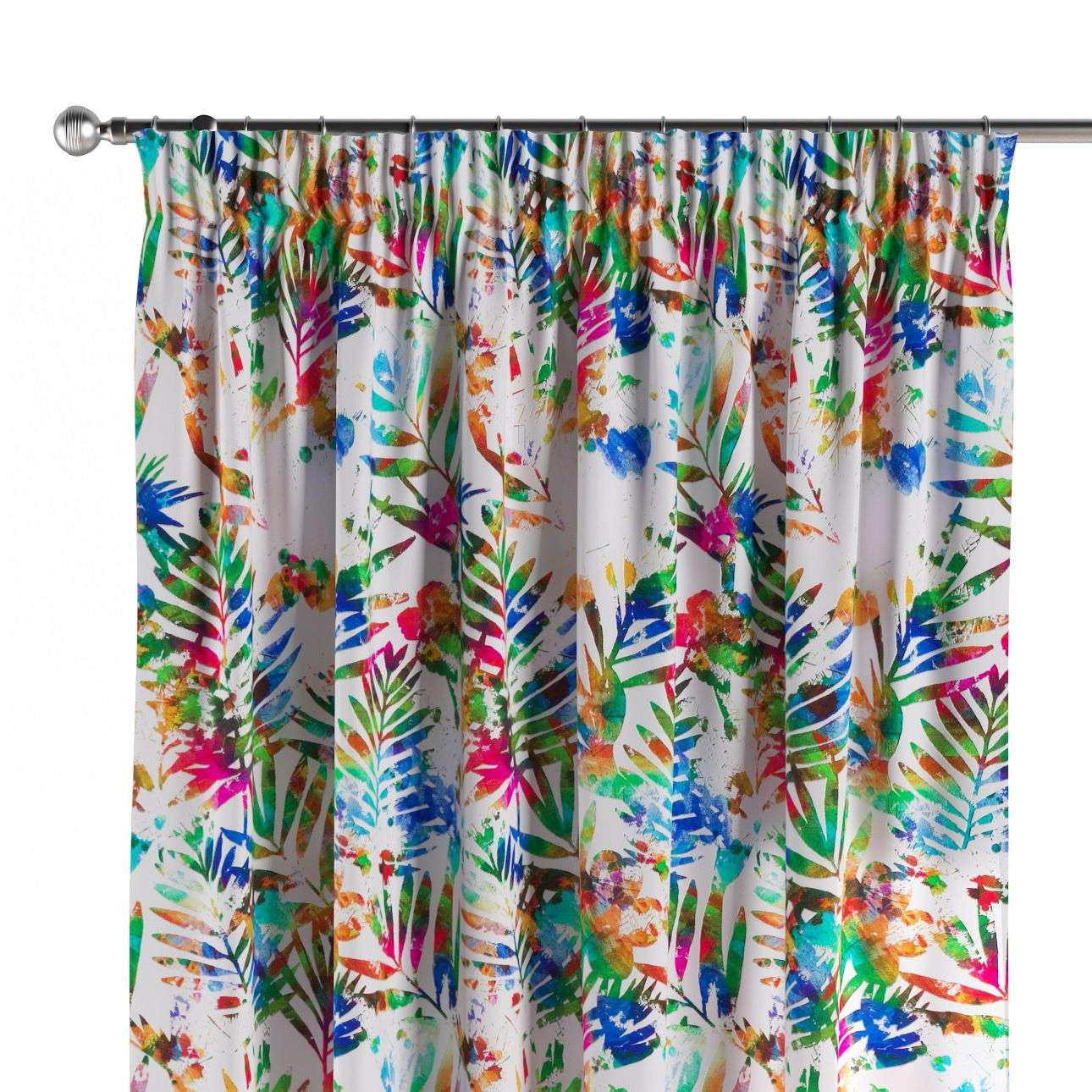 Pencil pleat curtains 130 x 260 cm (51 x 102 inch) in collection New Art, fabric: 140-22